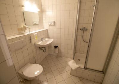 Einzelzimmer Komfort Bad