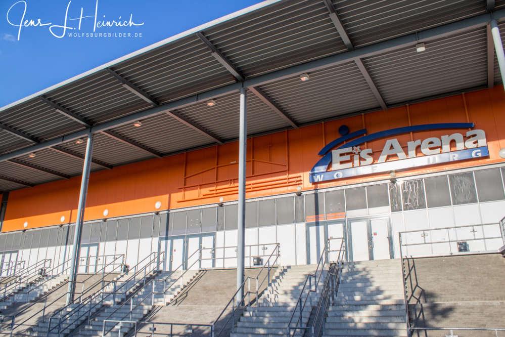 Die Eis-Arena in Wolfsburg