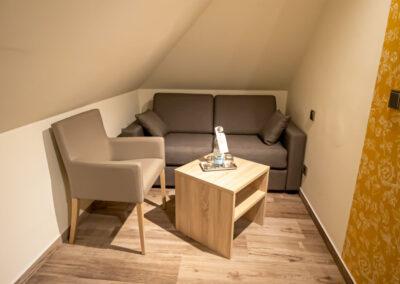 Familienzimmer Komfort Sitzecke